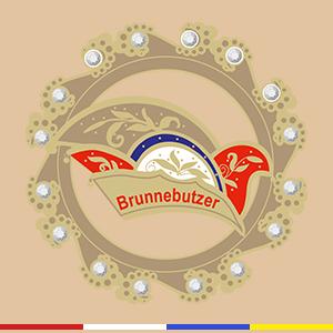 """Großer Pin / Brosche """"Brunnebutzer"""""""